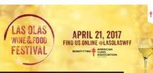 Las Olas Food & Wine Festival 2018 & 2017 / Join us April 2, 2018! Over 50 restaurants serving up amazing dishes plus sip some local wines and beers! #LOWFF #TravelHostFTL