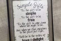 Simple Gifts!