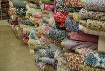 Fabric/Ribbon Love / by Elizabeth Mackey