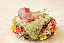Newborn Photo Inspiration / by Tiffany Kelley