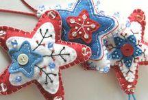 Holidays--Ornament ideas / Ideas for DIY ornaments / by Blaise Lowe