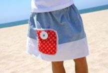 Crafty Stuff--Skirt Tutes / A bunch of tutorials for skirt making / by Blaise Lowe