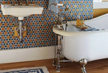 Bathrooms / Contemporary eclectic bathrooms
