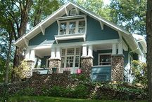 bungalow-craftsman-cottage / home design / by Cindy McMahan
