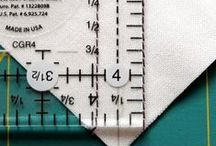 Clever Quilters / How to's and short cuts for quilting / by Patricia Zippi
