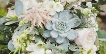 Wedding Flowers & Bouquets Inspiration / Lots of lovely floral ideas for your wedding, including wedding bouquets, flowers, flower decorations and more flowers!