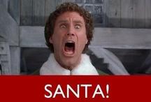 Keep calm and......SANTAAAA!!!! / Christmas, Christmas and MORE CHRISTMAS! / by Amanda Harbin Bartlett