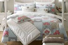 Textile Design Portfolio  (Branded bed linen) / Whilst working as an in-house textile designer at Ashley Wilde I worked on several branded bedlinen collections including Kirstie Allsopp's Home Living Collection.