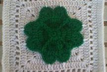 St. Patrick's Day Crochet Afghans