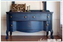 Furniture Make Overs /  I love giving new life to old furniture