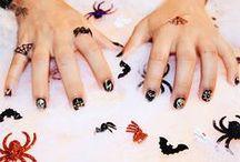 Boo, It's Halloween / Happy Halloween! We've got costume ideas, sweet treats, creepy makeup tutorials, nail art and more.