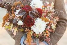 Autumn Wedding Inspiration / Ideas if you are having a wedding in the autumn or fall.