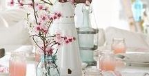 Spring Wedding Inspiration / Ideas for your wedding in the spring.