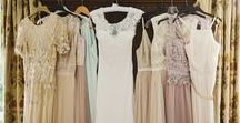 Bridesmaids Dress Inspiration / Ideas for your Bridesmaids at your wedding, including bridesmaids dresses in different styles and colours.