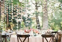 Wedding Decor & Details Inspiration / Ideas for wedding decorations and styles you can incorporate into your own wedding day. Anything pretty!