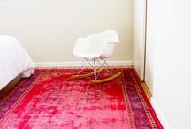 Rug love / Oriental rugs, fluffy rugs, faded rugs, kilims, sheepskins and vintage rugs...put some colour on that floor!