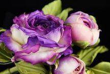 foamiran flowers / diy handmade foamiran flowers and brooches