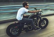 Old Motorcycle, Vintage & Neo retro