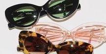 sunglasses / vintage sunglasses