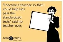 Just Because sayings / These funny memes and quotes are made for teachers.  There are also some for the home.