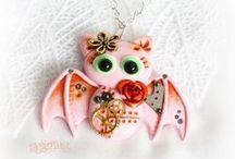 Cute Polymer Clay / Polymer Clay Designs & Ideas  / by Ginger Monkey21
