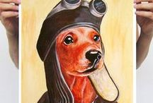 Dachshunds / Adorable Dachshund! / by Ginger Monkey21