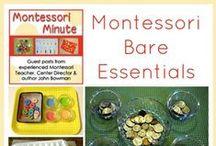 Montessori - homeschool / Montessori approach to learning, homeschool, education