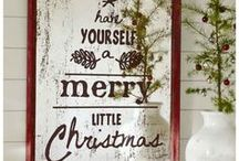 Holiday decor / by Becky Meredith