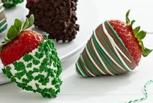Celebrate St. Patrick's Day / Shamrock-sprinkled berries, green cocktails, boozy fudge and more festive ways to make everyone feel lucky on St. Paddy's Day. / by Shari's Berries