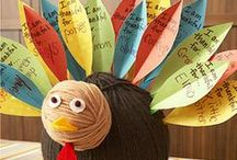 Thanksgiving activities / I love fall and Thanksgiving time. There are so many fun activities to do in the classroom with your students. Check out some of these easy ideas for your elementary kids.