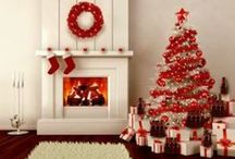 Christmas Trees / Beautiful Decorated Trees / by Ginger Monkey21