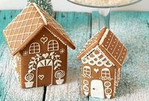 Amazing Gingerbread Houses / Where cookies and decor meet...