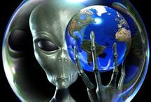 Aliens, Crop Circles & UFOs / The mysterious, the creative & the fun~out of this world possibilities / by Ginger Monkey21