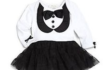 Black, White & Cute All Over / Black & White girls clothing  / by AFancyGirl Must