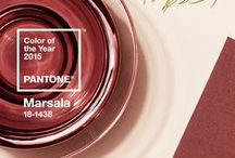 Marvelous Marsala - Pantone Color of the Year 2015 / by AFancyGirl Must