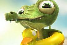 Alligators & Crocodiles / by Ginger Monkey21