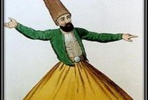 Ct ✏whirling Dervish 1☔ / Jalal uddin Muhammad Balkhi-Rumi, a 13th century parshian poet and founder of the mewlewiyya order of dervishes he was a poet, Islamic jurist & theologian