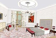 /// H A N D R E N D E R I N G S &  M O O D B O A R D S /// / Prestigious Interior Design  ROMEO ROYAL GALLERY PARIS Tel : +33 (0)1 45 62 06 14  ROMEO CLAUDE DALLE  PARIS Tel : +33 (0)1 44 75 71 99  ROMEO CLAUDE DALLE CANNES Tel : +33 (0)4 93 38 93 36