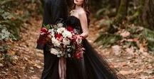 Black Wedding Ideas / Black wedding inspirations, wedding invitations, wedding inspiration, wedding ideas, wedding planning