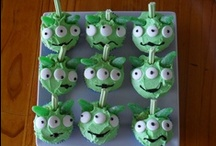 Party Themes for my sons / Cakes Ive made. / by Nicole Smith
