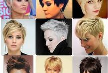 hair styles: Medium & Pixie