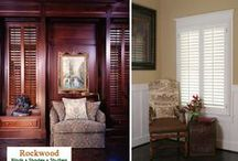 Window Treatment - Shutters / Plantation Shutters or Interior shutters are both functional and stylish to match any home decor