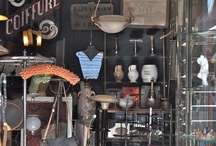 Flea Markets and What We Make From Them / Pictures of flea markets from around the world where we get inspired and what we make from what we find
