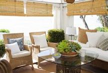 Outdoor Living / Ideas for creating outdoor living spaces at your home