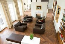 Flooring ideas / Whole house flooring ideas, including herringbone pattern