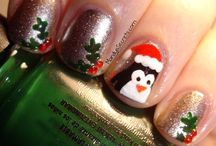 Christmas/Winter Nails / by Amelia Hendryx