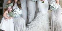 Silver Wedding Ideas / Silver wedding inspirations, wedding invitations, wedding inspiration, wedding ideas, wedding planning