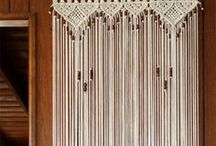 cortins de hilo