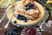 Breakfast recipes & desserts