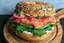 Sandwich & bread